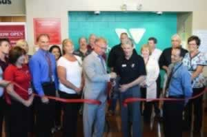 Ribbon Cutting YMCA Open House