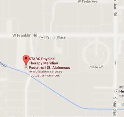 stars meridian pediatrics map