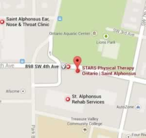 Ontario Physical Therapy STARS Map